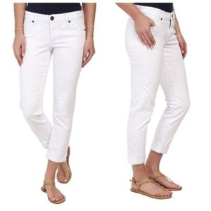 Kut from the Kloth Catherine White Denim Jeans